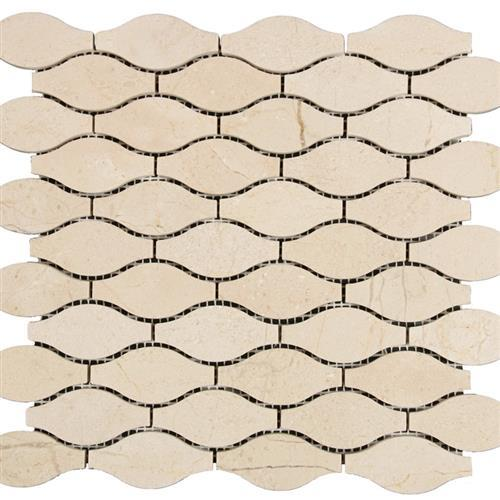 Marble Crema Crema Marfil - Waves