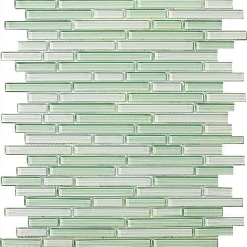 Lucent Glass Linear Mosaics Aventurina Linear