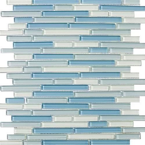 Lucent Glass Linear Mosaics Emisfero Linear
