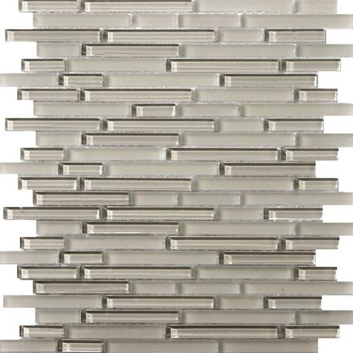 Lucent Glass Linear Mosaics Morning Fog Linear