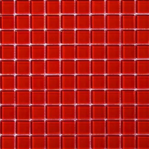 Lucent Glass Mosaics Ruby