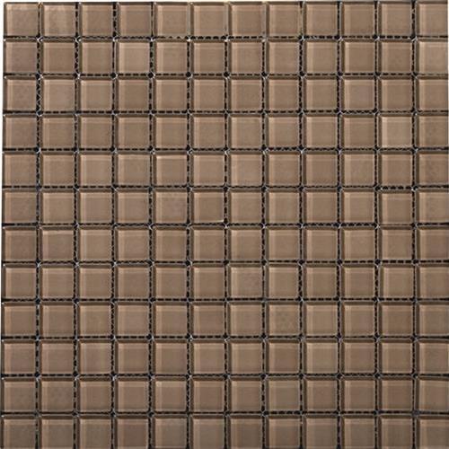 Lucent Glass Mosaics Soft Mauve