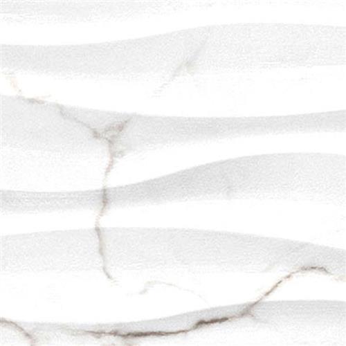 Sculpture White Wave 13X36