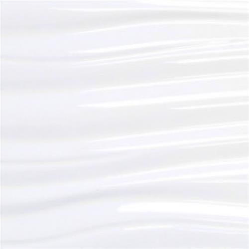 """White Ripple Gloss 12""""x24"""""""