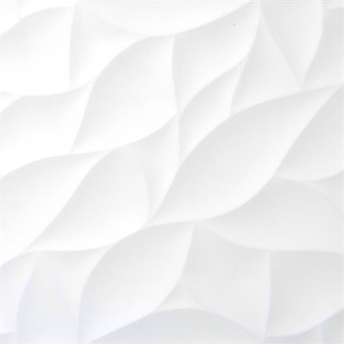 "White Bloom Matte 12""x24"""
