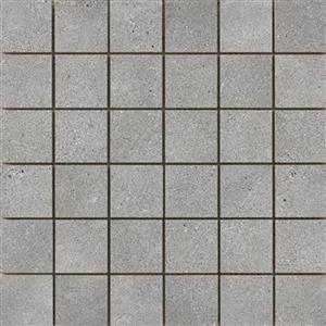 CeramicPorcelainTile Alpha F84ALPHGR1313MO2 Gray-Mosaic