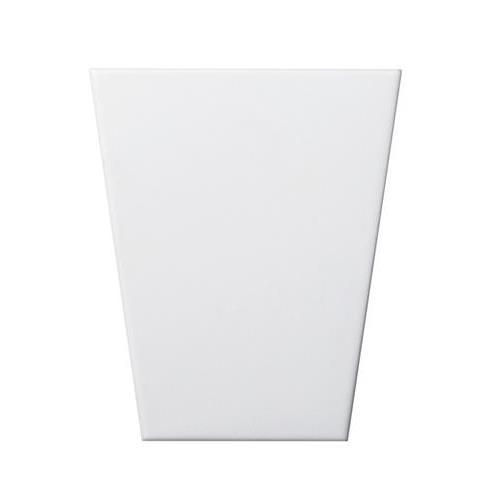 """White Wedge 3d 5""""x6"""""""