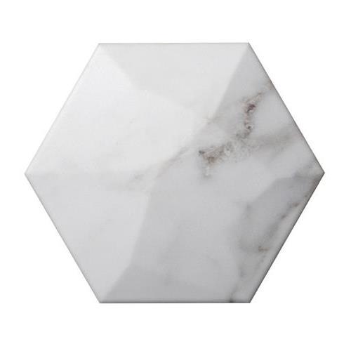 """Calcata Hexagon High 6""""x7"""""""