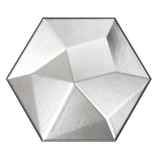 "Metal Hexagon High 6""x7"""