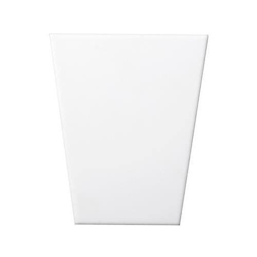 """White Wedge Smooth 5""""x6"""""""