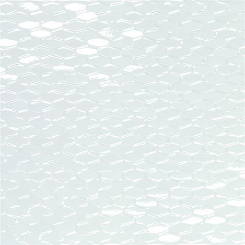 Artwork White Mini Hexagon 12X35