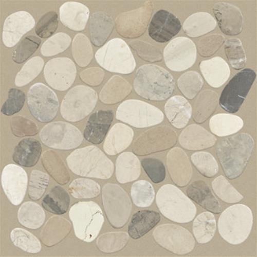 Pebble Sliced in Harmony Warm Blend - Tile by Shaw Flooring
