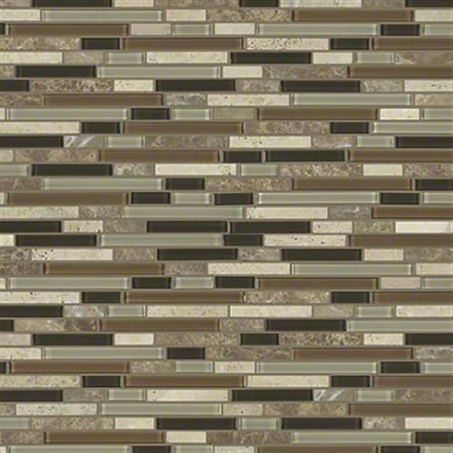 MARVELOUS MIX LINEAR MOSAIC Bamboo 00210