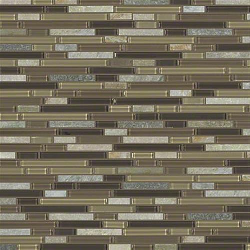 MARVELOUS MIX LINEAR MOSAIC Cotton Wood 00222