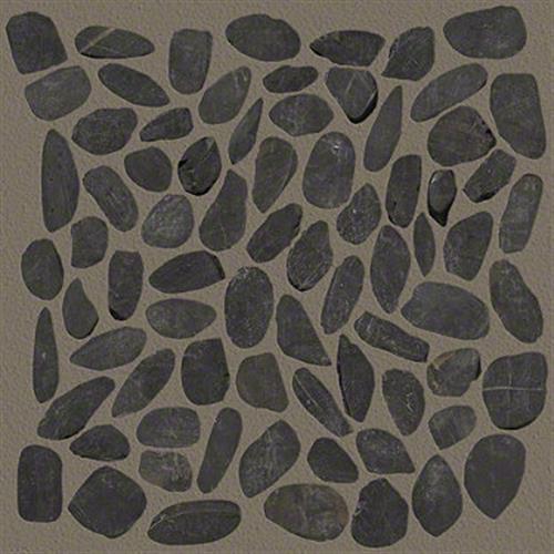 River Rock Sliced in Volga Black - Tile by Shaw Flooring