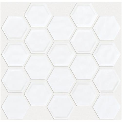 GEOSCAPES HEXAGON White 00100