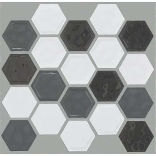 GEOSCAPES HEXAGON Cool Blend 00510