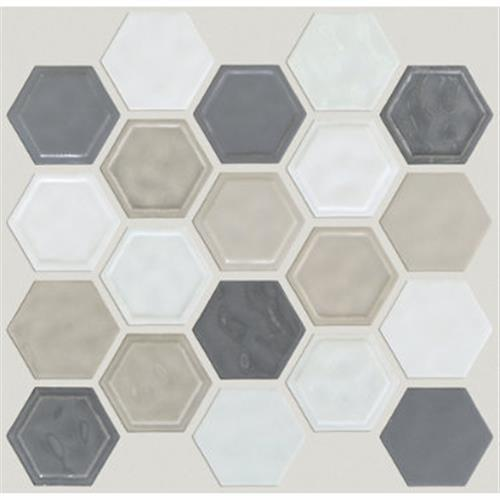 GEOSCAPES HEXAGON Warm Blend 00520
