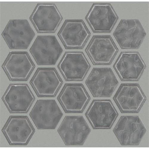 GEOSCAPES HEXAGON Dark Gray 00550