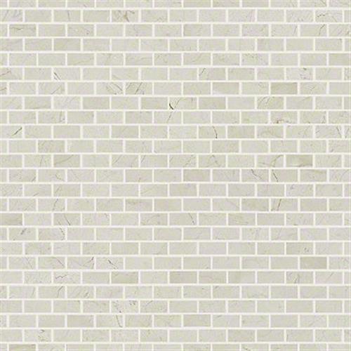 Chateau Mini Brick Mosaic Crema Marfil 00200