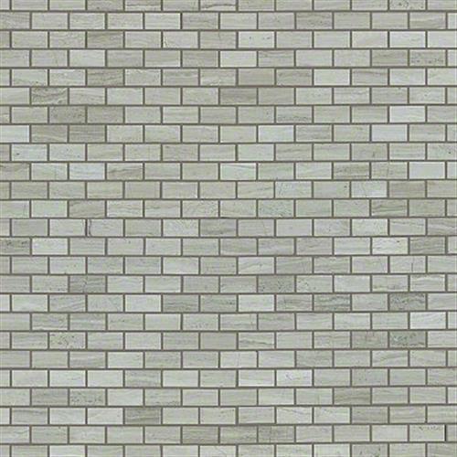 Chateau Mini Brick Mosaic Rockwood 00500