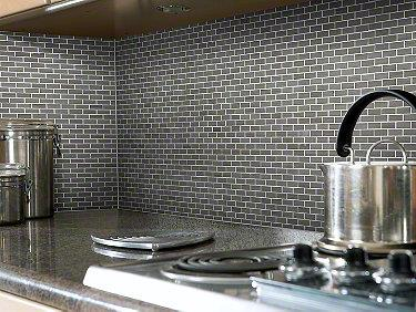 Chateau Mini Brick Mosaic Urban Grey 00570