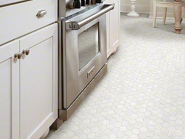 Boca Hexagon Polished Mosaic Pearl 00101