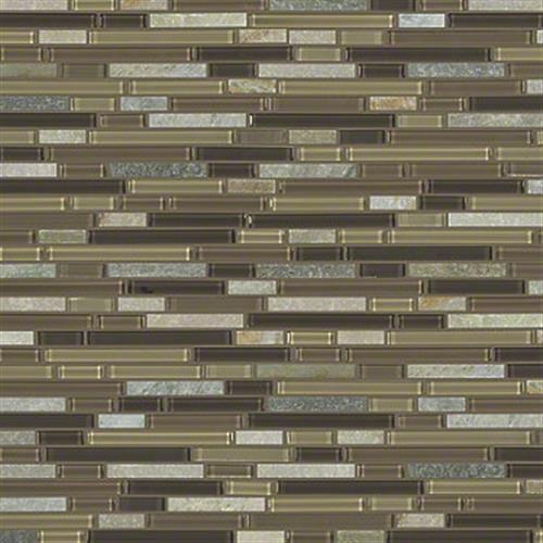 AWESOME MIX RANDOM LINEAR MOSA Cotton Wood 00222