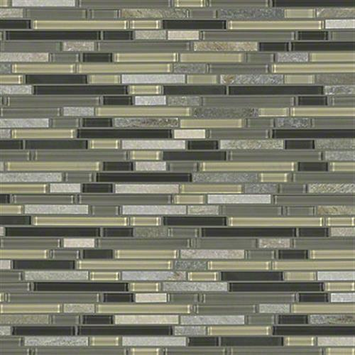 AWESOME MIX RANDOM LINEAR MOSA Silver Aspen 00555