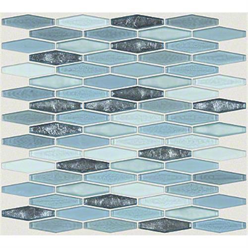 MOLTEN STRETCH HEXAGON GLASS Santorini 00400