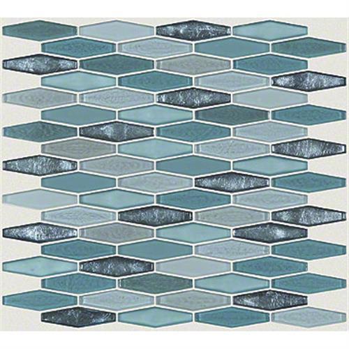MOLTEN STRETCH HEXAGON GLASS Hydra 00460