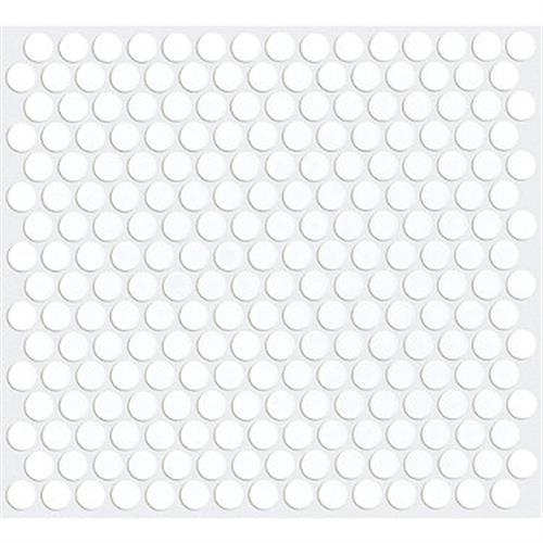 HOOVER MATTE PENNY ROUND White 00100
