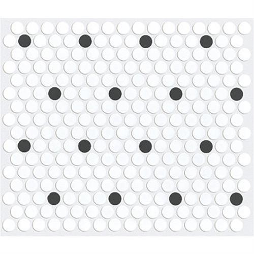 HOOVER MATTE PENNY ROUND Polkadot 00190