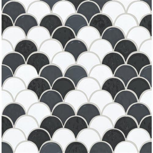 GEOSCAPES FAN Black/White 00151