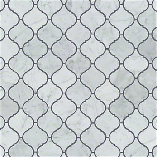 Chateau Lantern Mosaic Bianco Carrara 00150