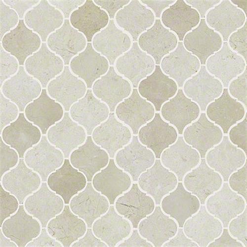 Chateau Lantern Mosaic Crema Marfil 00200