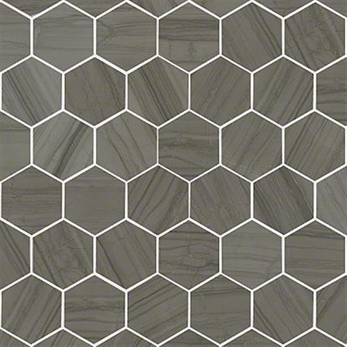 Chateau Hexagon Mosaic Urban Grey 00570