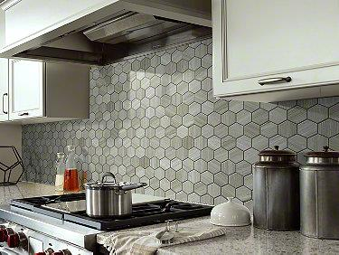 Chateau Hexagon Mosaic Rockwood 00500