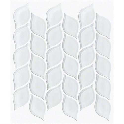 CARDINAL PETAL GLASS MOSAIC Ice 00100