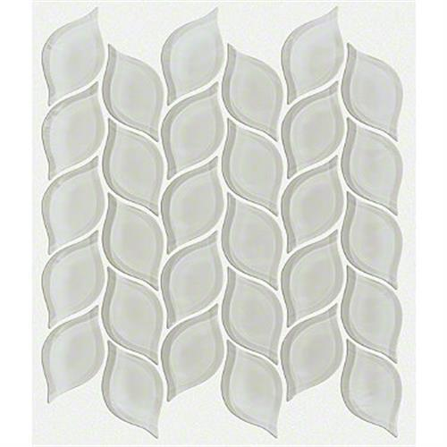 CARDINAL PETAL GLASS MOSAIC Mist 00250