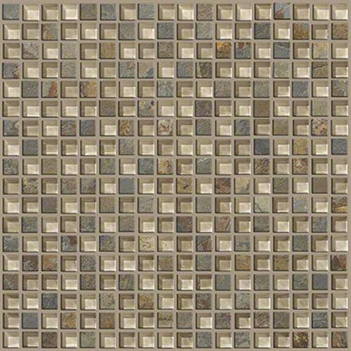 Mixed Up 5/8 Mosaic Slate Denali 00200