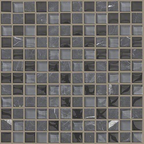 Shaw Industries Mixed Up 1x1 Mosaic Stone Black Hills Ceramic ...