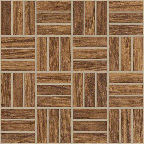 Petrified Hickory Mosaic in Ancient - Tile by Shaw Flooring