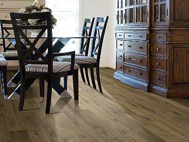 Room Scene of Tahoe Hickory - Laminate by Shaw Flooring