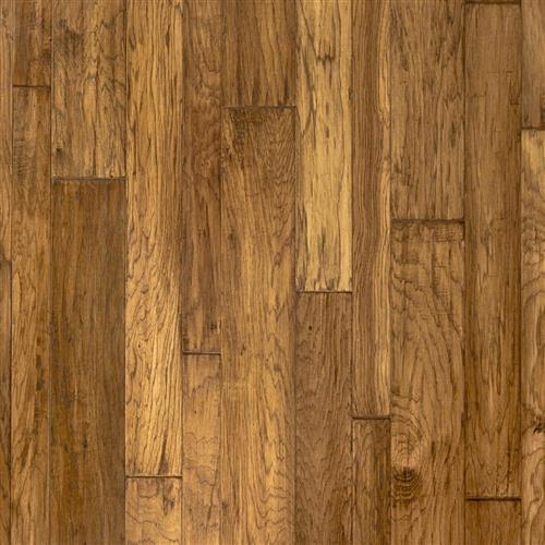 Hand Crafted  Mountain View Hickory Plank 5 Inch in Autumn - Hardwood by Mannington