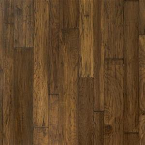 Hardwood HandCrafted-MountainViewHickoryPlankVariable MVR06BK1 Bark
