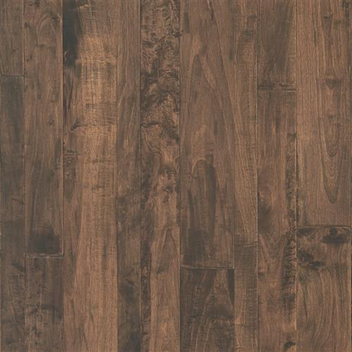 A close-up (swatch) photo of the Cinder flooring product