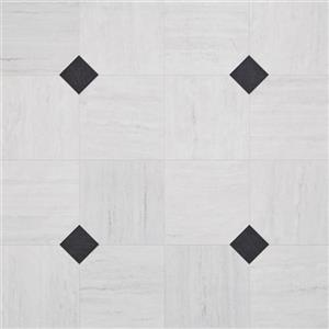 VinylSheetGoods UniqueDesigns-Empire 130360 CarraraWhite