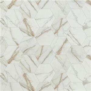 VinylSheetGoods BetterBenchmark-Carrara 4190 Ivory