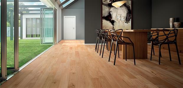 Smooth Flooring - Engineered Amendoim  3/8 X 3 1/4